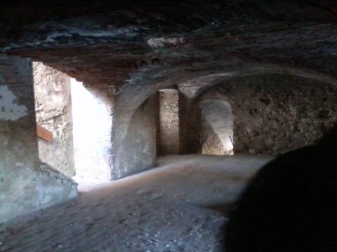 Intérieur d'un fort