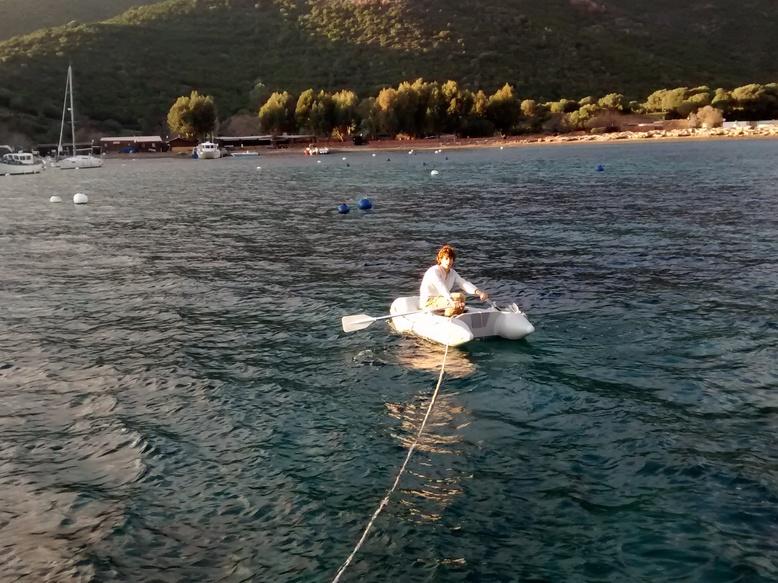 Félicien tire le bateau