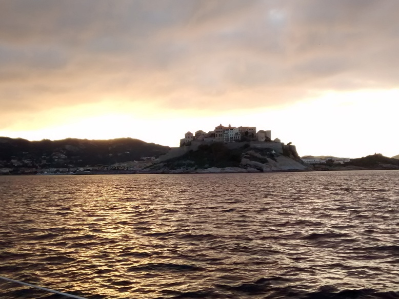 Coucher de soleil sur Calvi