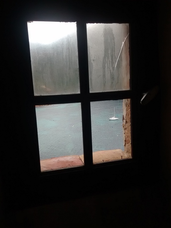 Vu depuis la chambre nuptiale